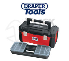 Draper 14714 Tool Box Tote + Removable Organiser 585mm Heavy Duty Trade DIY New
