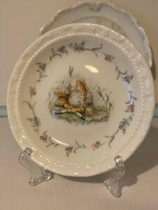"Royal Albert The World of Beatrix Potter "" Jeremy Fisher  ""  Plate 12cm Vintage"