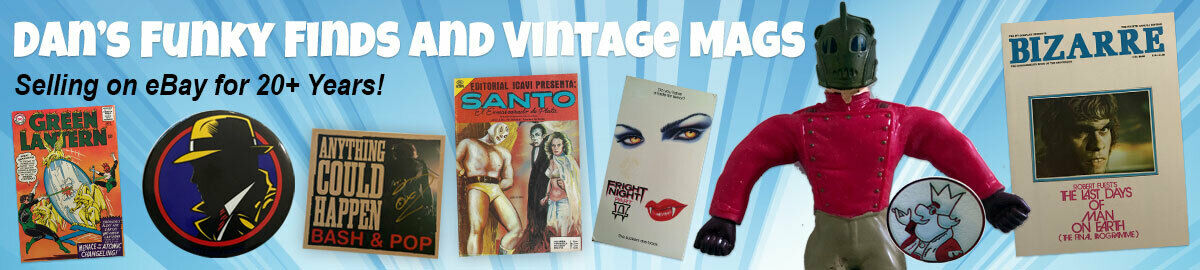 Dan's Funky Finds and Vintage Mags