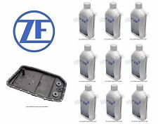 Jaguar S-Type XFR XJ8 XKR Oil Pan and Filter Kit with Auto Trans Fluid OEM ZF