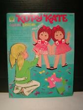 "Vintage Paper Doll Book - ""Kopy Kate"" Color Me, Dress Me, Doll Book c1971"