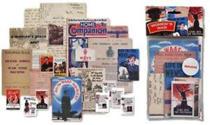 Women's War nostalgic memorabilia pack    (mp)