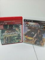 Play Station 3 Uncharted 3 Drakes Deception and Drakes Fortune Complete