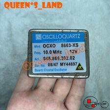 On Sale Oscilloquartz 10mhz Ocxo Sinewave 8663 Xs 12v Crystal Oscillator