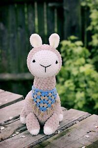 Alpaca crochet toy / alpaca amigurumi / llama crochet / alpaca toy / llama toy