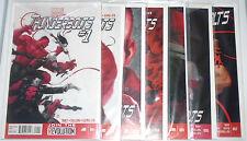 Marvel Comic Thunderbolts #1-7 2013