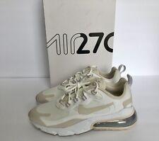 Nike Air Max 270 React Summit White Orewood Women's Sneakers Size 6