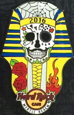 Hard Rock Cafe MYRTLE BEACH 2016 Pharaoh Sugar Skull PIN Card LE 300 HRC #88740