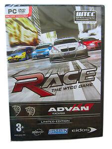 Limited Edition ADVAN PC DVD RACE The WTCC Game SimBim Eidos Geniune Racing DTM