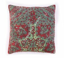 Indian Ethnic Living Room100% Cotton Cushion Cover Set 3 Pillow Sham Case 24x24""