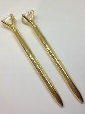 Gold Diamond Ballpoint Pen