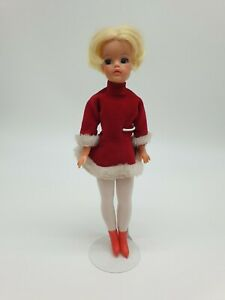 Vintage Trendy Girl Sindy Doll from 1971 in Skater Outfit also from 1971