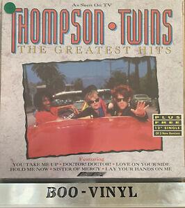 Thompson Twins - The Greatest Hits Vinyl LP Double Album. 1990. EX+ / EX+