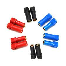 6 Pairs XT150 Connector Adapter Male Female Plug 6mm Gold Banana Bullet Plug