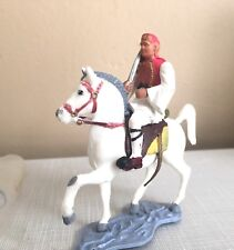 Vintage NOS AOHNA ATHENA toy soldier equastrian cavalry soldier on horse W Bag