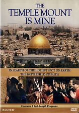 BRAND NEW DVD // THE TEMPLE MOUNT IS MINE //  CONTAINS 2 FULL LENGTH DOCUMENTARY