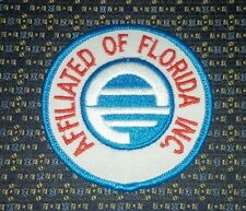 AFFILIATED OF FLORIDA INC. Iron or Sew-On Patch