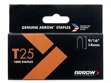Arrow T25 grapas 14mm (1.4cm) Caja 5000