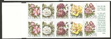 Sweden SC # 22075a Roses. Complete Booklet