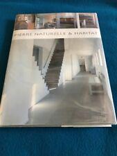 Pierre Naturalle & Habit Rare French Interior Design Book HB DJ 2004