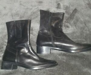 Black ankle boots size 5