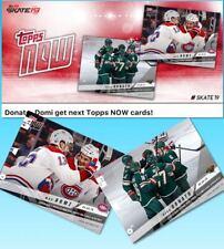 18-19 TOPPS NOW 2/28 SET OF 2 RYAN DONATO + MAX DOMI Topps NHL Skate Digital