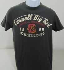Cornell Big Red Athletics Gray Short Sleeve T-Shirt Mens Small