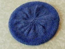 donna lavorato a maglia blu Slouchy BERRETTO CAPPELLO BERRETO