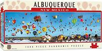 Albuquerque Balloon Fiesta 1000 pc  panoramic jigsaw puzzle 990mm x 330mm (mpc)