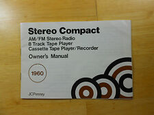 J. C. Penney Stereo Compact Model 683-1960 Owner's Manual