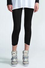 Capri Damen-Leggings aus Viskose ohne Muster