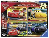 Ravensburger Cars 3 Puzzle 4 x 42 Pieces Bumper Pack - Opened but bags sealed