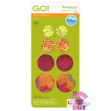 Accuquilt GO! Fabric Cutter Die Multiple Circles Quilting Sewing 55115