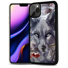 ( For iPhone 11 ) Back Case Cover AJ12469 Wolf