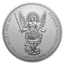 2018 Ukraine 1 oz Silver Archangel Michael BU - SKU#153641