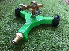 NEW ZORRO Impulse Impact Sprinkler on Heavy Duty Metal Base on Wheels 12mm