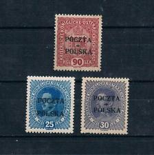Poland 1919 Cracow Issues Mr. Muller Forgeries/Counterfeit MNH,MH Sc#50,58,59