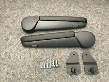 Volkswagen VW T5/T6 Transporter Caravelle Armrests 2010-2020 Black Leatherette
