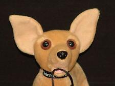 WANTED POSTER TALKING TACO BELL CHIHUAHUA YOU QUIERO PLUSH STUFFED ANIMAL MASCOT