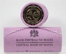 ROL --- ROULEAU 2 EURO  Malta 2009 Malte  ***  10 ans EMU 10 jaar !