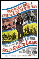 Seven seas to Calais Rod Taylor movie poster print