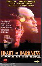 Heart of Darkness. Cuore di tenebra (1993) VHS  DeltaVideo  Tim ROTH   Roeg