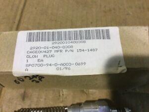 MEP002A/MEP003A 5 or 10 KW Military Diesel Generator Manifold Glow Plug, NOS