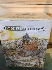 Boyd's Bears Bearly Built Villages Mathews Bungalow W/ Accessories