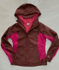 Ladies COLUMBIA  Omni Tech Waterproof Rain Jacket/Coat Size M Medium fit 12/14