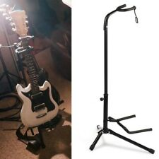 More details for electric guitar stand acoustic guitar stand universal free standing frame  fold