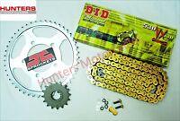 Kawasaki ZX9R C1 & C2 1998 & 1999 DID Gold X-Ring Chain & JT Sprockets Kit Set