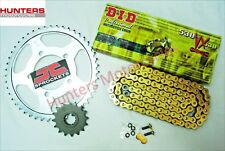 Kawasaki ZX9R C1 & C2 1998 & 1999 DID Gold X-Ring Chain & JT Sprockets Kit Set