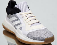 adidas Marquee Boost Low Men's New Off White Black Basketball Sneakers D96933