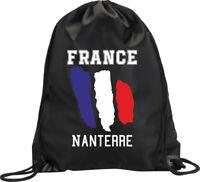BACKPACK BAG NANTERRE FRANCE GYM HANDBAG FLAG SPORT